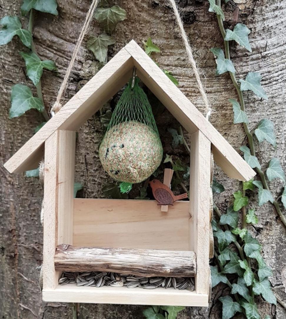 Make a bird nest too