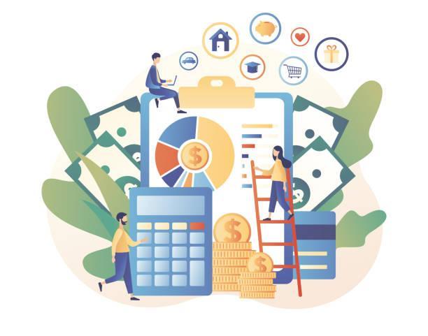 444 Financial Literacy Illustrations & Clip Art - iStock
