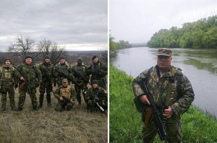 Архівні фотографії з командиром батальйону поліції «Луганськ-1» Сергієм Губановим