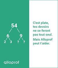 Feuillets verts Alloprof - Pour les élèves du primaire