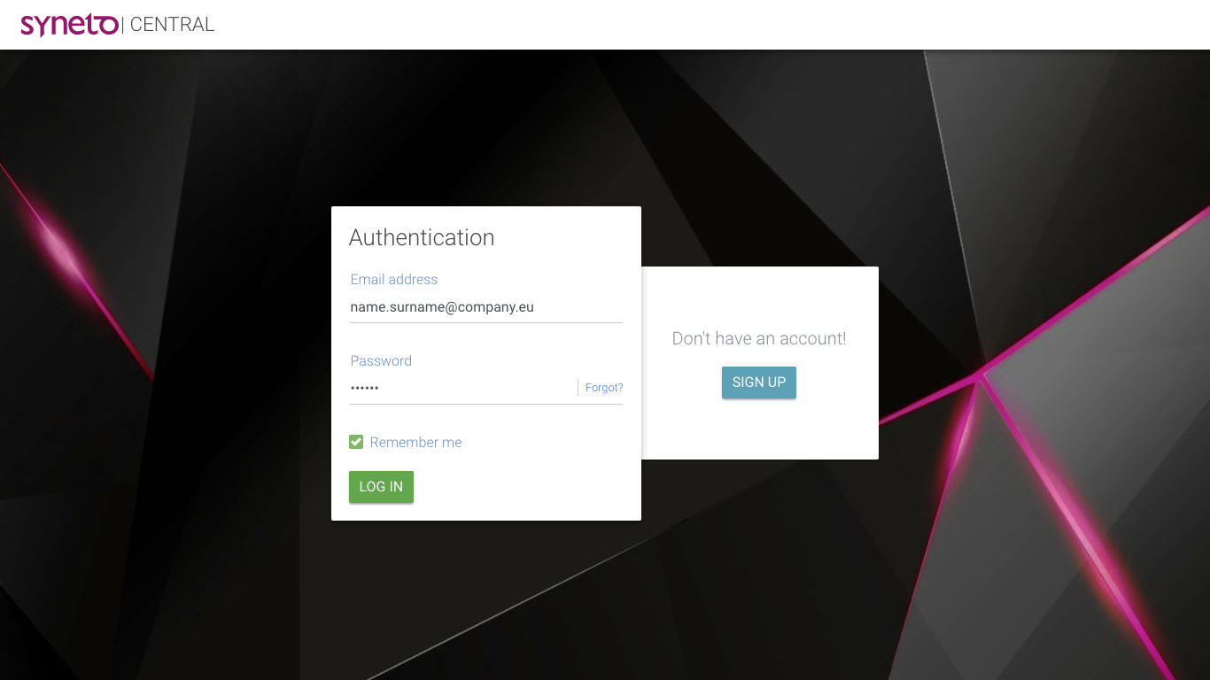 central authentication with completed fields.png