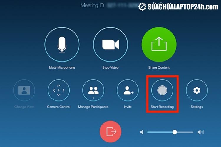 Zoom Meeting có thể ghi lại cuộc họp