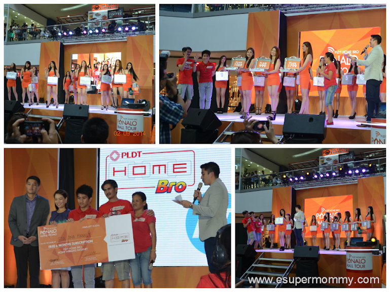 PLDT Home Bro PANALO MALL TOUR Winner at SM North The Block