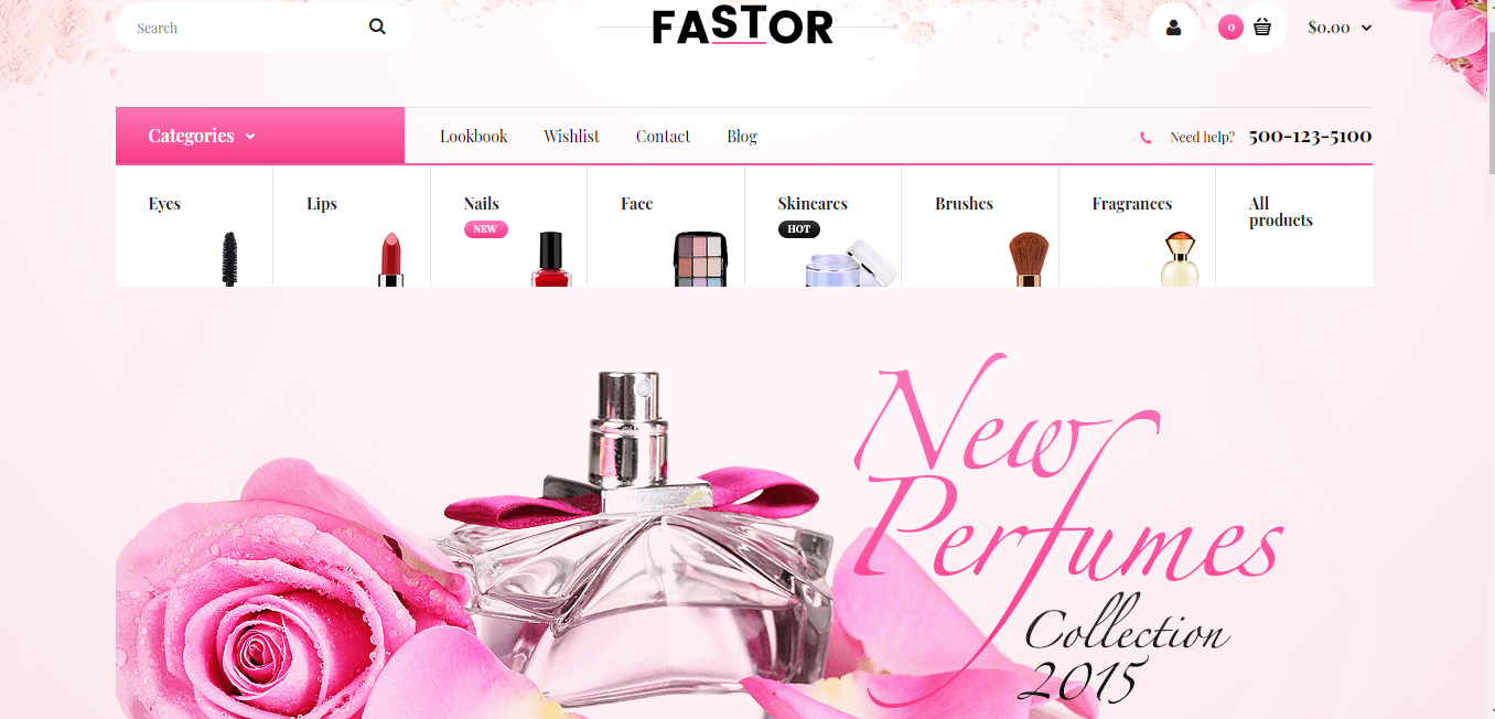Fastor - Opencart beauty theme