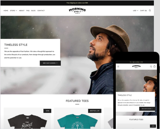 Venue - Shopify clothing themes