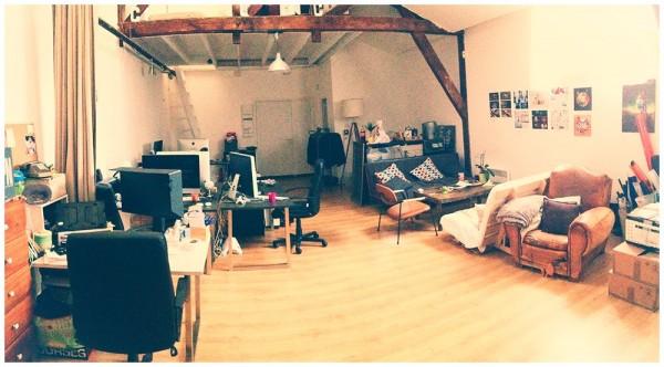 Les bureaux de CQC à Paris