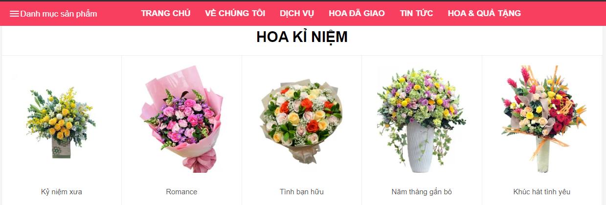 Cửa hàng hoa trực tuyến của Thế giới hoa – Shop hoa tươi giá rẻ tại TPHCM