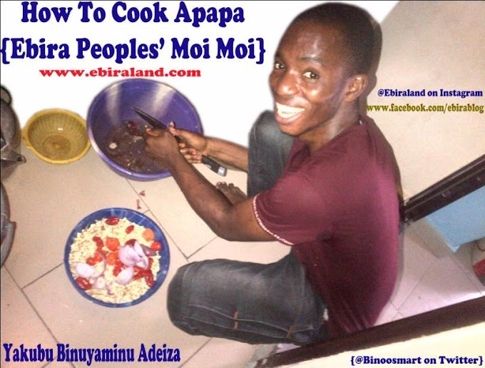 How To Cook Apapa, Ebira Peoples Moi Moi. : With Pictures
