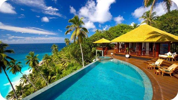fregate villas seychelles + royals