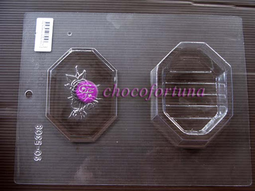 cetakan cokelat coklat pour box tray 90-5308