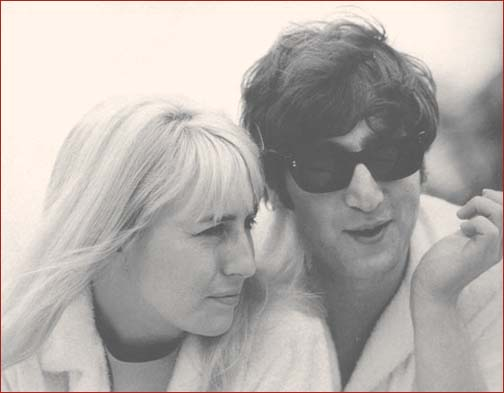 John and Cynthia Lennon in Miami
