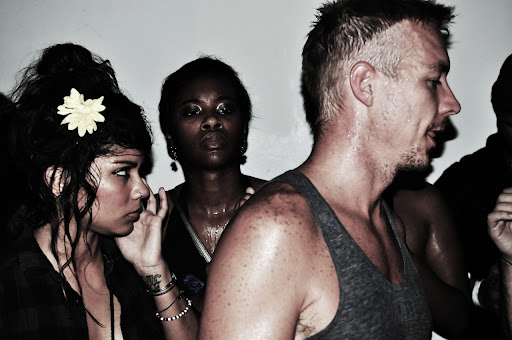 Diplo and Flower Girl at BAR, Miami