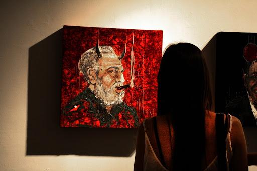 Fidel Castro Painting