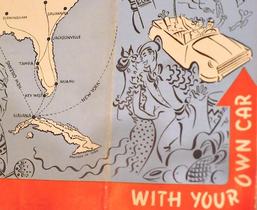 A 1950 Cuba Tourism Ad