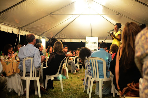 The Tent at Eat Our Words