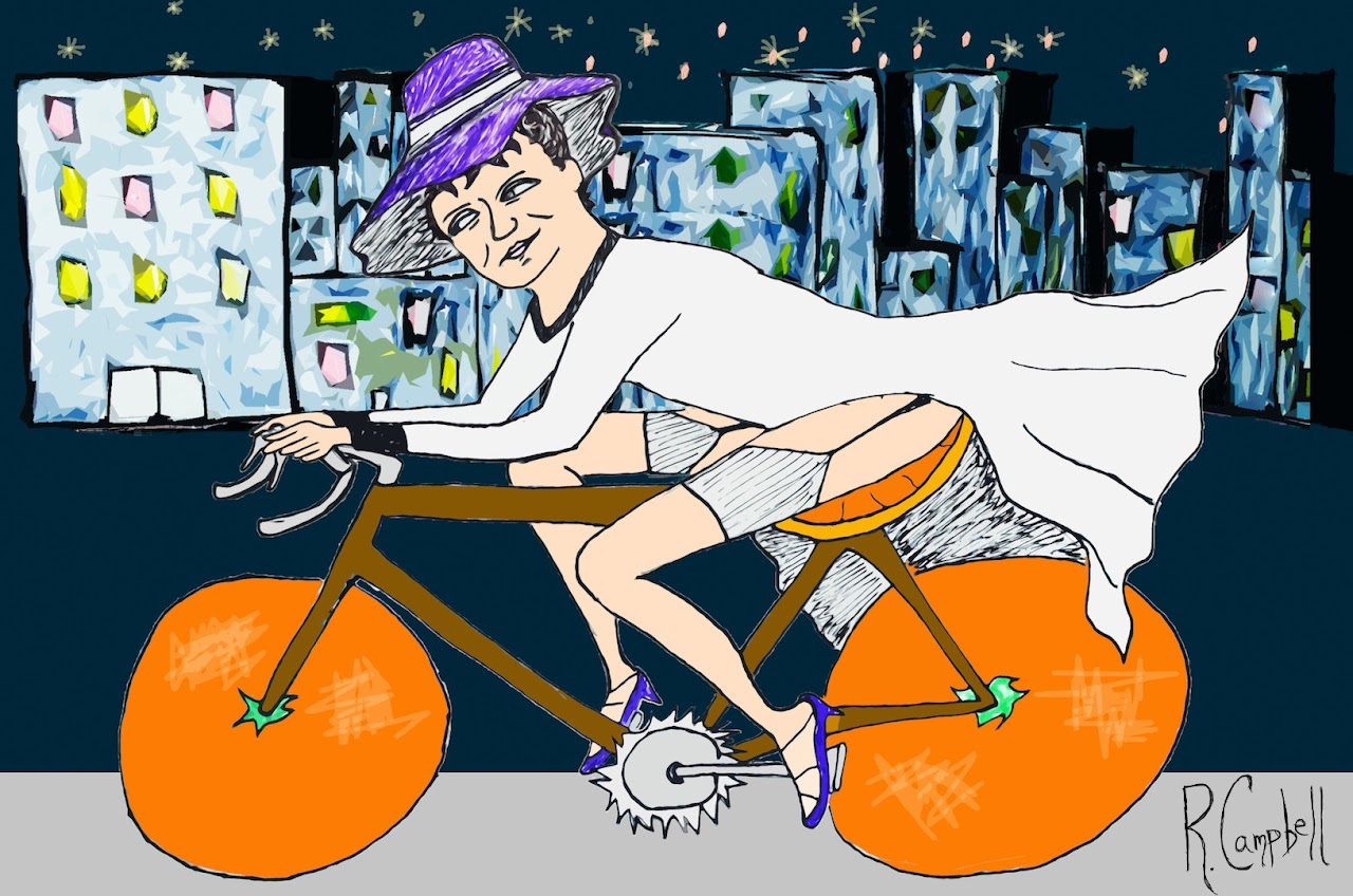 Iconcyclists #1: Julia Tuttle by Robby Campbell