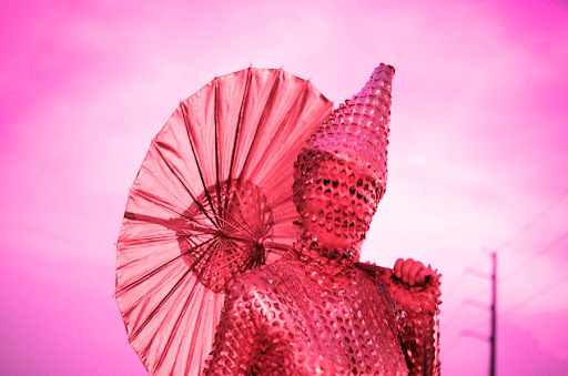 Photo by Robby Campbell: Pink Parasol
