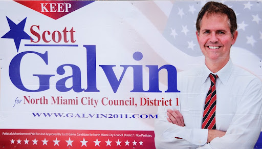 Scott Galvin Campaign Sign