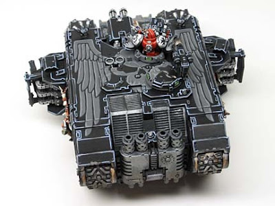Black Templar Land Raider freehand
