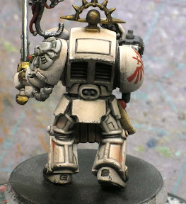 Deathwing terminator with sponge battle damage