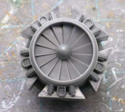 Space marine drop pod engine