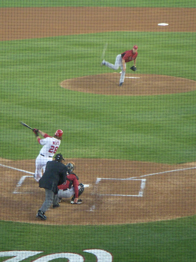 Werth at bat