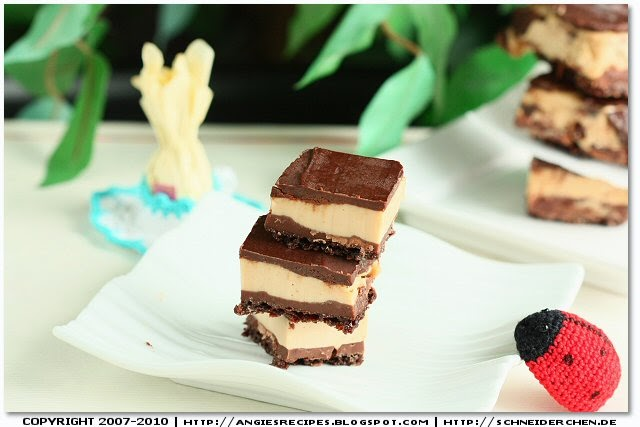 Chocolate Cream Cheese Peanut Butter Bars