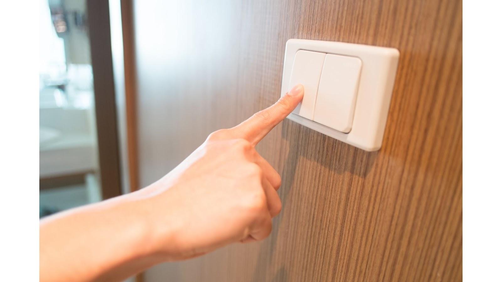Turning off unused lights