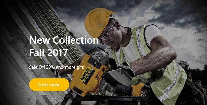 best Shopify construction theme