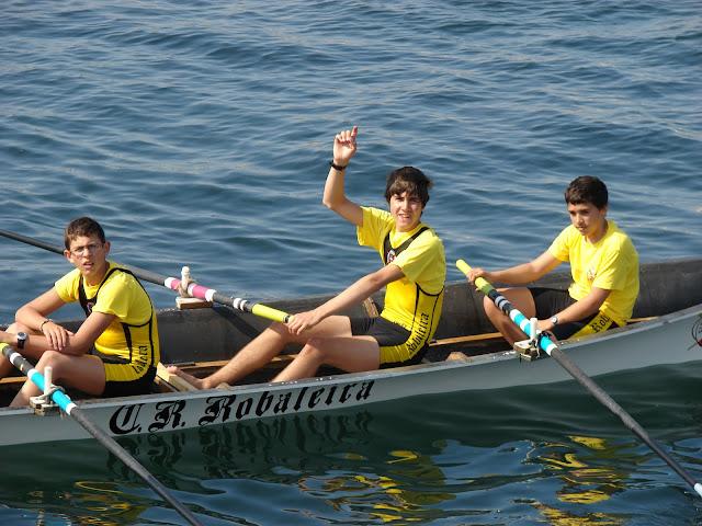 regatas clasificatorias para el Campeonato Gallego de remo