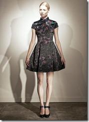 Erdem Pre-Spring 2011 Printed Dresses Look 11