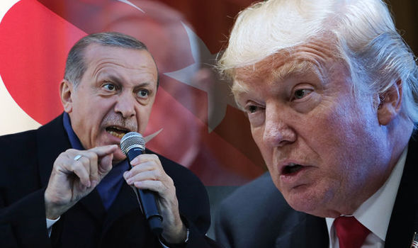 Trump Sanciona a Turquía pero esta sigue su asedio sobre Siria