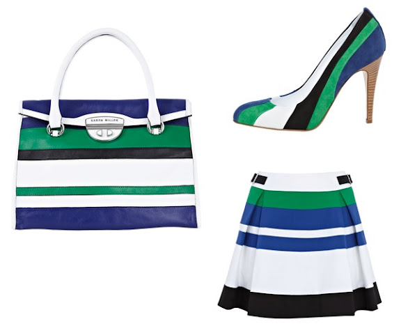 Karen Millen Colourblock Stripe Collection