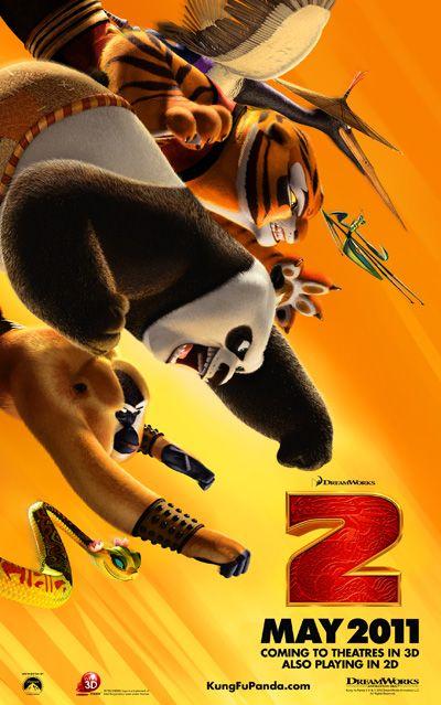New, Poster, Kung Fu Panda 2