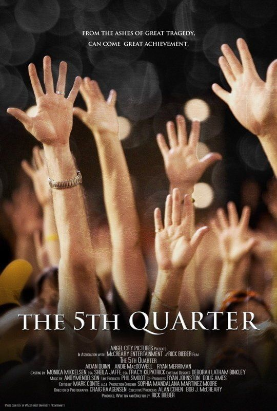 The 5th Quarter, 2011, movie, poster