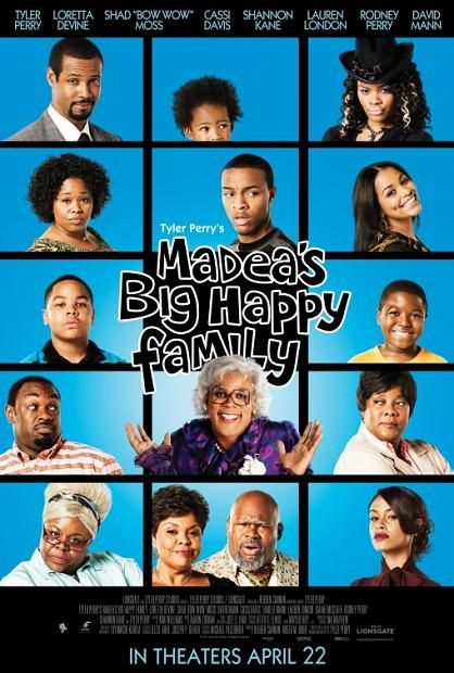 Madea's Big Happy Family, movie, poster, Tyler Perry