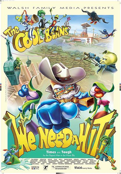 The Cool Beans: We Need a Hit, movie, poster