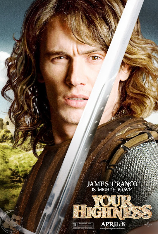 POSTER, Your Highness, James Franco