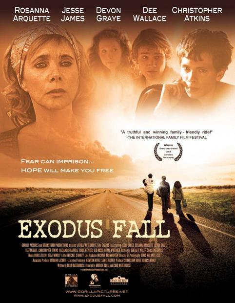 Exodus Fall, movie, poster