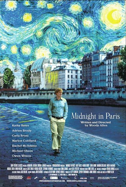 Midnight in Paris, movie, poster