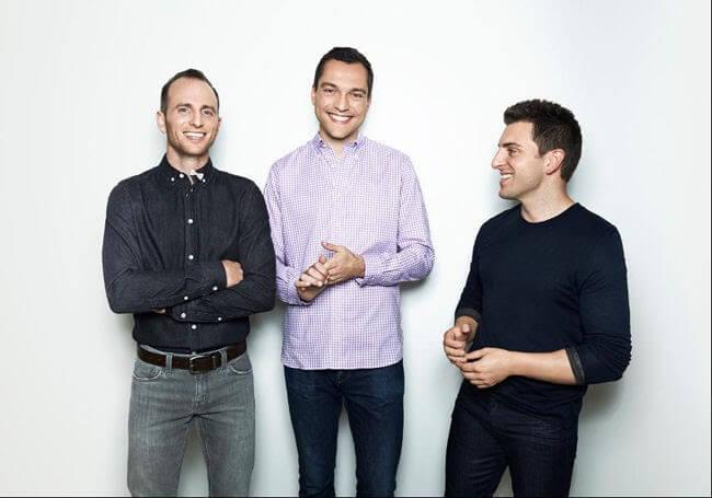 Fundadores do Airbnb
