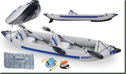 Sea Eagle FastTrack Inflatable Kayaks