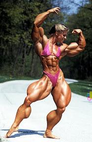 Anja Langer muscle morph