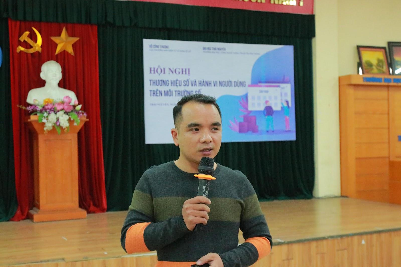 Anh Trần Đình Thành – Chuyên gia Digital Marketing trình bày về Xu hướng quảng cáo, bán hàng trực tuyến trên nền tảng Tiktok và Fb