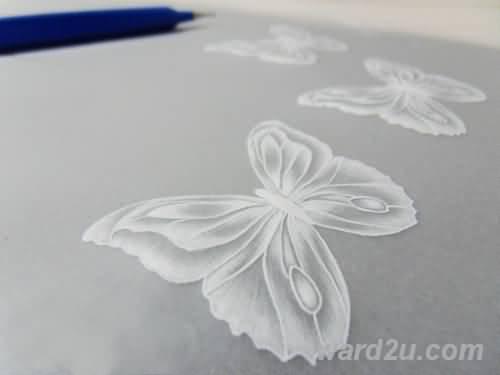 تعلم الرسم والنقش على ورق الكلك