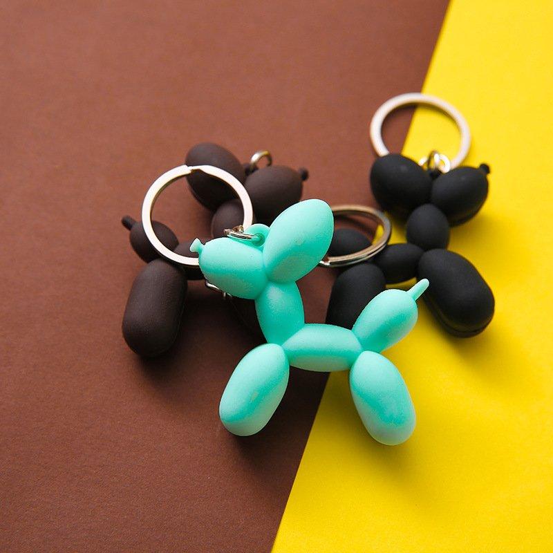 Minimalist Dog Keychain for Couple Accessories