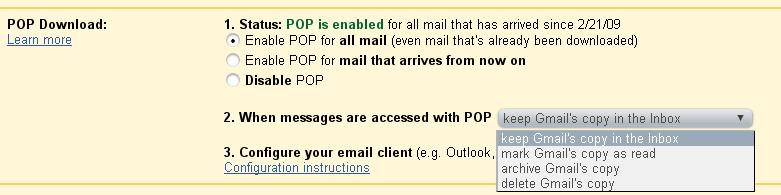 How To Backup Gmail Using Thunderbird ~ Web Upd8: Ubuntu
