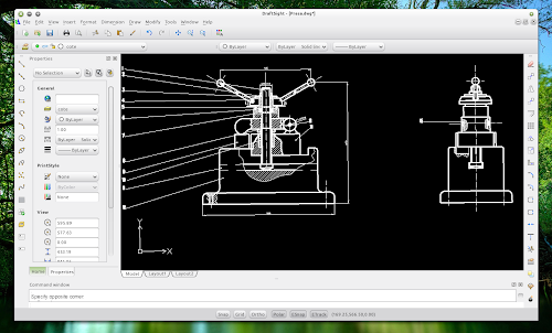Download draftsight free autocad compatible 2d cad for Online 2d drafting software