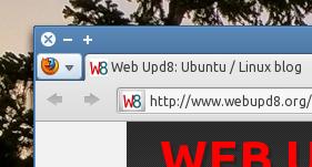 Firefox 4 icon menu