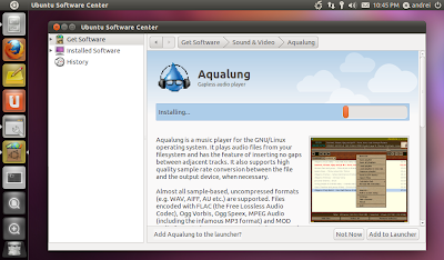 Ubuntu 11.04 screenshot